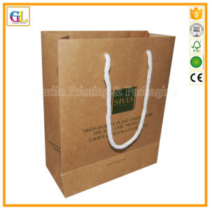 Full Color Kraft Paper Bag Printing Service (OEM-GL006) pictures & photos
