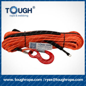 Aftermarket Auto Parts Multicolor 4X4 Electric Winch Rope 10mm X 30m Synthetic Winch Rope pictures & photos