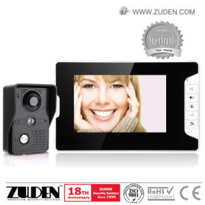 "Super Slim 7"" Video Door Phone Intercom System pictures & photos"