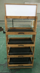 Stainless Steel & Metal & Wooden & Acrylic Belt Display Rack Stand pictures & photos