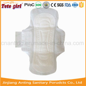 280mm Ultra Thin Ladies Sanitary Napkin, Women Cotton Cover Sanitary Towel pictures & photos