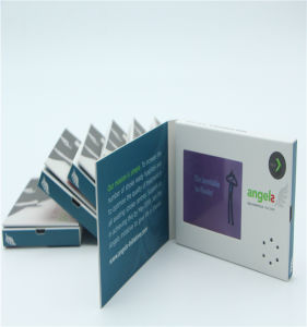 Custom LCD OEM Color Folded Business Card pictures & photos