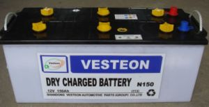 N100 Dry Charge Starter Battery for South America Markrt pictures & photos