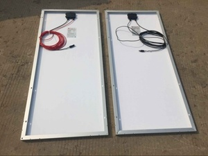 100W Mono Solar Panels for LED Light pictures & photos