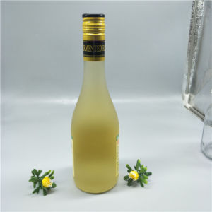 500ml Frost Wine Glass Bottle with Lid pictures & photos