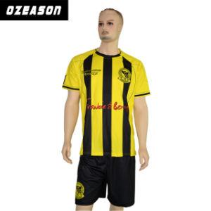 Youth League Cheap Sublimation Soccer Uniform Jersey Kit Supplier pictures & photos