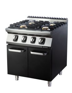 Commercial Four Burner Gas Stove with Cabinet (FG7XC41YN) --LPG pictures & photos