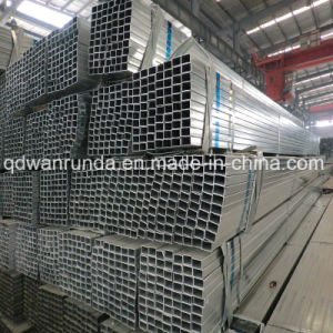 Rectangular Steel Pipe with Quality Galvanized Surface pictures & photos