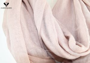 Fashionable Plain Color Soft Light Thin Knitted Tube Scarf pictures & photos