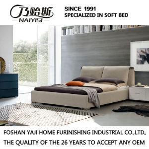 Model Fabric King and Queen Size Bed Furniture G7008 pictures & photos