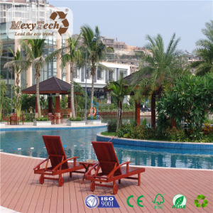 Hot Selling Outdoor Customized Anti-Slip Swimming Pool WPC Plastic Wood Floor pictures & photos