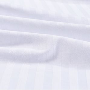 100%Cotton Hotel Bedding Linen Stripe Bed Sheet with Pillowcase pictures & photos
