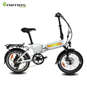 "20"" Mountain Electric Bike Foldable Sport E Bicycle pictures & photos"