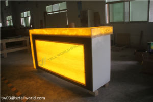 Commercial Coffee Shop Marble Bar Counter pictures & photos