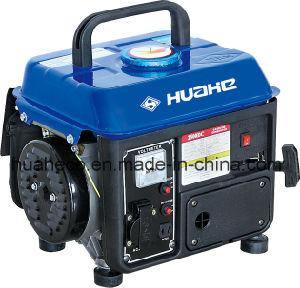 650W Luxury Type Portable Gasoline Generator HH950 pictures & photos
