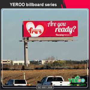 F Shaped Aluminum Standing Advertising LED Billboard pictures & photos