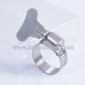 Stainless Steel Hose Clamp with Thumbscrew pictures & photos