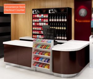 Hot Sale Retail Store New Design Checkout Counter pictures & photos