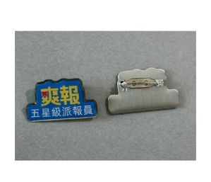 Irregular Shape Lapel Pin Printing Badge (GZHY-YS-019) pictures & photos