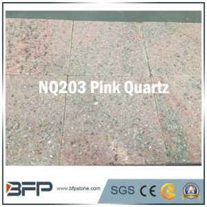 Pink Swimming Pool Paver Outdoor, Driveway, Garden Natural Stone Quartz pictures & photos