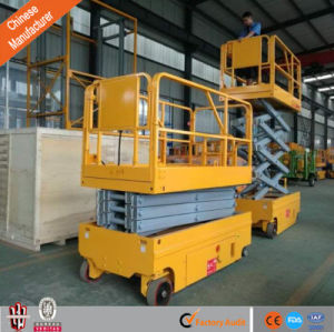 Hot Sale Electric Self-Propelled Scissor Lift Aerial Working Platform Scissor Lift pictures & photos