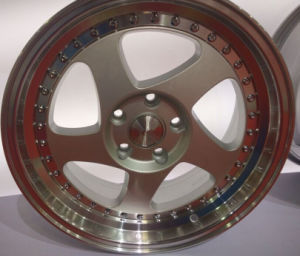 2014 Fantastic 0.05 0.06 0.08 3sdm Car Alloy Wheels with Best Price pictures & photos