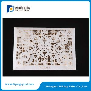 Special Die Cutting Invitation Card Printing pictures & photos