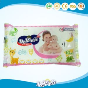 10PCS Non-Woven Skin Care Baby Wipes pictures & photos