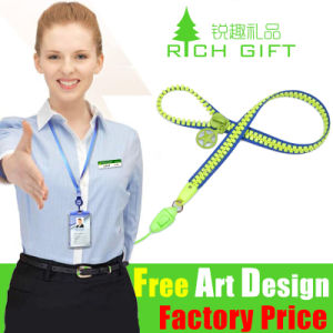 Factory Sale Custom Zipper Stitched Lanyard for Promotion pictures & photos