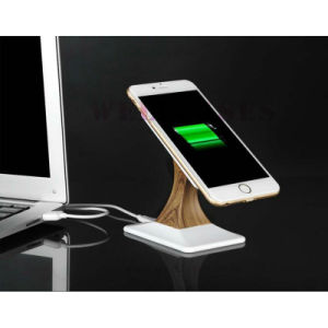 Qi Transmitter Wireless Charger for Mobile Phone Tablet with Holder Stand pictures & photos