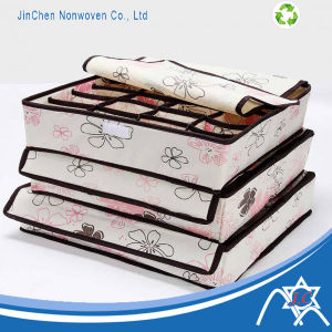 Printed Storage Box of Colorful PP Spunbond Nonwoven Fabric pictures & photos