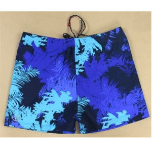 Sublimation Printing Fashion Men Swimwear with 4 Way Stretch Fabric pictures & photos