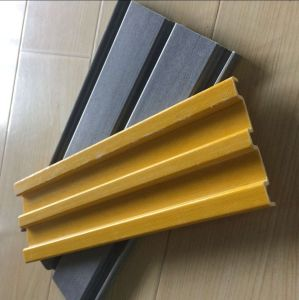 Kick Plate /FRP Channel/ Fiberglass Profiles/ FRP Shapes/ GRP pictures & photos