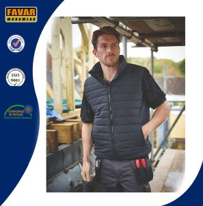 Weather Resistant Black Lightweight Padded Bodywarmer pictures & photos