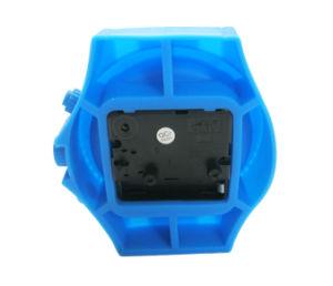 Watch Shape Logo Printed Fashion Mini Silicone Table Clock Desk Clock Alarm Clocks pictures & photos