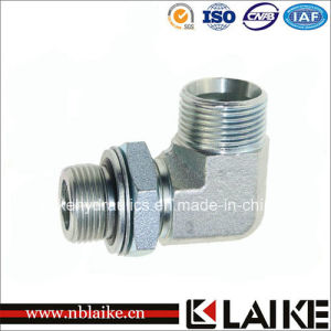 (1CG9) Carbon Steel Elbow Bsp Thread Hydraulic Adapter