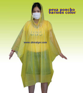 Promotional Emergency PE Rain Ponchos (LY-PR-003) pictures & photos