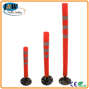 750mm Road Traffic Safety Flexible Warning Delineator Post pictures & photos