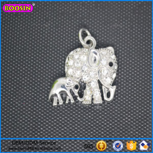 Mom and Son Elephant Crystal Pendant Jewelry From China #17105 pictures & photos