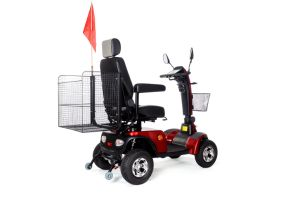 Four Wheels Heavy-Load Electric Mobility Scooter Eml48A pictures & photos