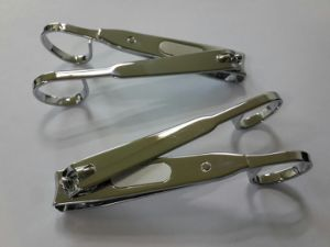 Heavy Duty 10.8cm Toenail Clipper with Scissor Handle and Laser File pictures & photos