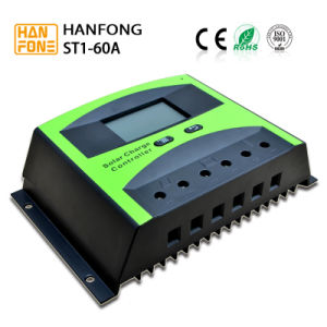 Solar Energy Product 60A PWM Solar Charge Controller with High Efficiency (ST1-60) pictures & photos