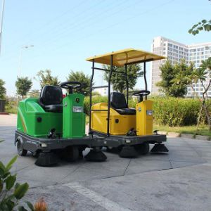 Rechargeable Mini Road Sweeper Street Cleaning Vehicle (DQS12/DQS12A) pictures & photos