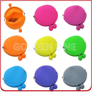 Hot Sale Plastic Promotional Gift Silicon Coin Purses pictures & photos