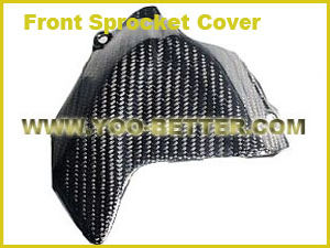 Carbon Fiber Motorcycle Parts for Front Sprocket Cover
