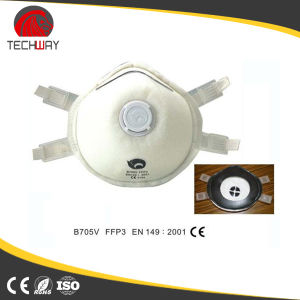 China Factory Manufacture Easy Wear Active Carbon Filter Smoking Gas Masks pictures & photos