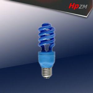 Half Spiral E27 blue-Tube Light Energy Saving Lamp pictures & photos