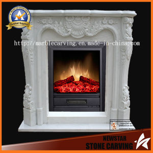 Quatlity Factory Directly Stone Fireplace for Indoor, Outdoor pictures & photos