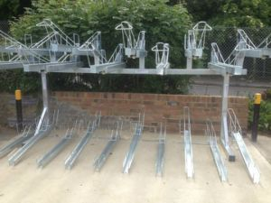 Outdoor Bicycle Parking Rack pictures & photos