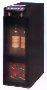 6 Bottles Wine Cooler/Wine Dispenser/Wine Chiller/Wine Cellar/Wine Cabinet (SCJ-24SXB) pictures & photos
